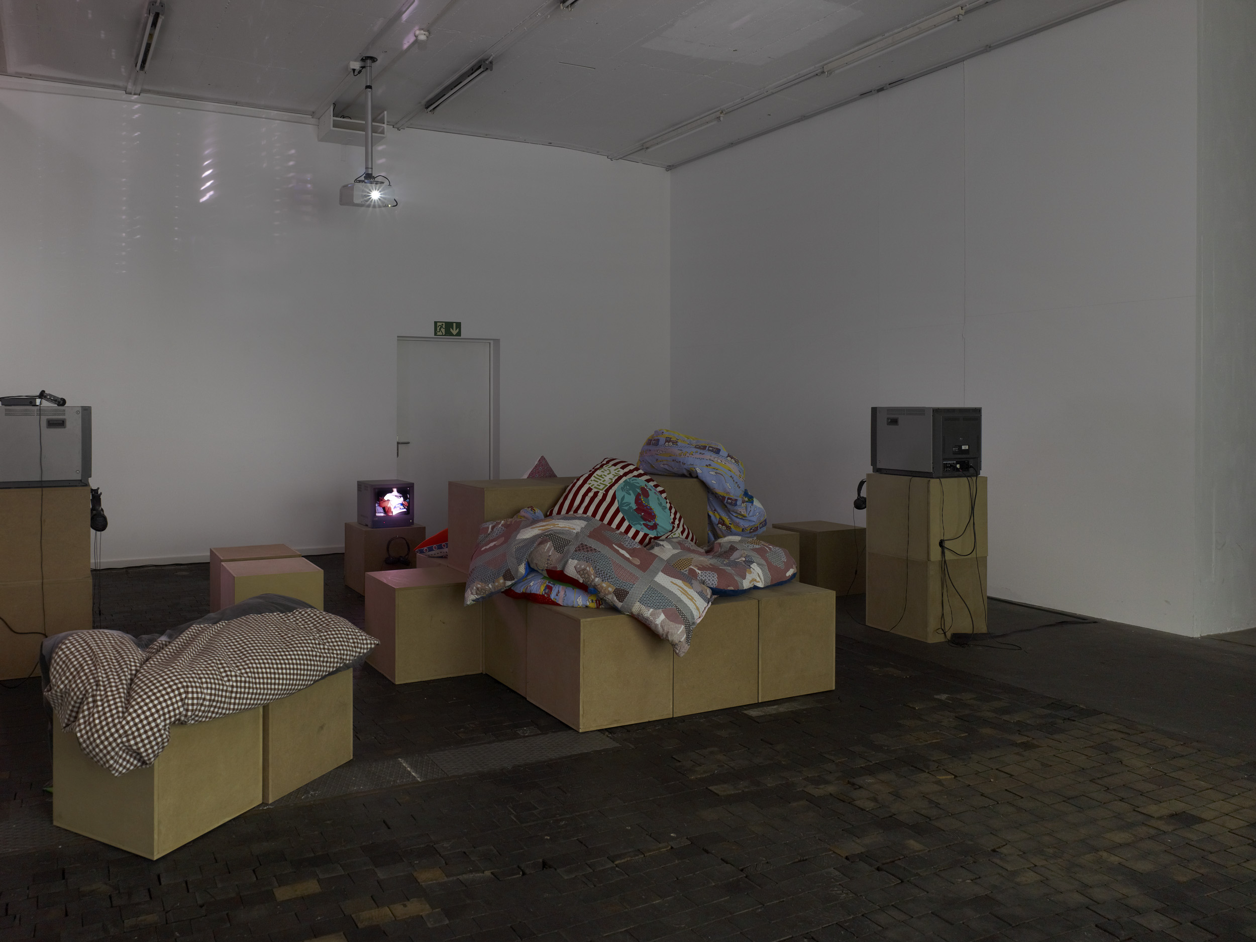 View of the exhibition Take Two